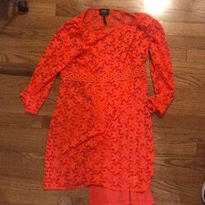 Laundry 10 tangerine dress